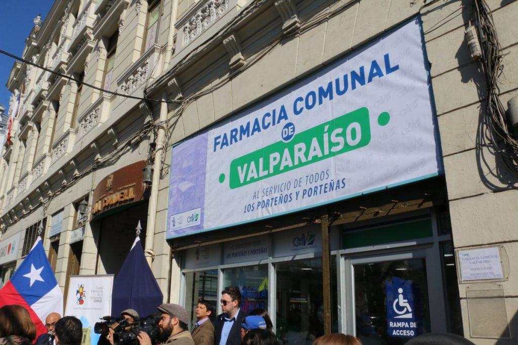 Valparaíso ya tiene su propia farmacia popular